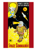 Space Commando Premium Giclee Print