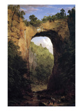 Natural Bridge, Virginia Prints by Frederic Edwin Church
