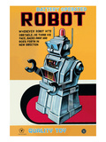 Battery Operated Robot Posters