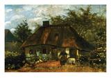 Cottage Affiches par Vincent van Gogh