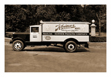 Keener Brand Meets, Kuhner Packing Co. Delivery Truck Poster