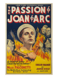 The Passion of Joan of Arc Premium Giclee Print by  Eloquent Press