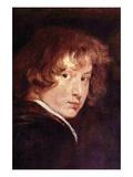 Van Dyk Self Portrait Kunstdrucke von Sir Anthony Van Dyck