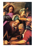 Christ Driving the Money Changers from the Temple Posters by  Rembrandt van Rijn