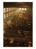 Locomotive Factory Floor Posters