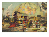 The World's Railroad Scene Prints