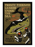 Twenty Thousand Leagues under the Sea Kunstdruck von Jules Verne