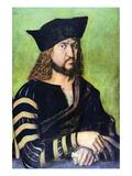 Portrait of Friedrich Des Weisen Posters by Albrecht Dürer