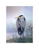 Don Li-Leger - Brooding Heron Umění