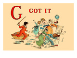 G - Got It Prints by Kate Greenaway