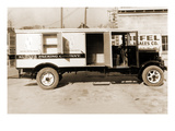 Kuhner Packing Company Delivery Truck Art