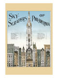 Sky Scrapers of Philadelphia Poster