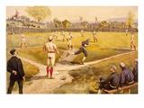 Baseball Prints by  L. Prang & Co