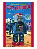 X-27 Explorer Posters
