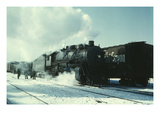 Santa Fe R.R. Freight Train Prints by Jack Delano