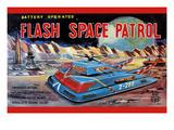 Flash Space Patrol Print
