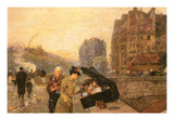 St Michel Poster by Childe Hassam