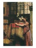 In My Studio Premium Giclee Print by Sir Lawrence Alma-Tadema