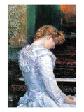 The Sonata Premium Giclee Print by Childe Hassam