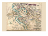 Siege of Vicksburg Prints