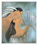 Soul Mates Giclee Print by Maxine Noel