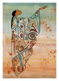 Ancient Messages Giclee Print by Maxine Noel