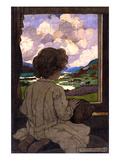 The Journey Premium Giclee Print by Elizabeth Shippen Green