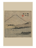 Miho Bay in Suruga (Suruga Miho No Ura) Prints by Ando Hiroshige
