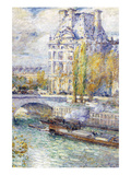 The Louvre on Port Royal Prints by Childe Hassam