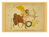 Sagittarius and Corona Australis, Microscopium, and Telescopium Posters af Aspin Jehosaphat