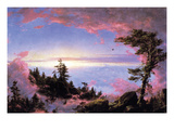 Above the Clouds at Sunrise Prints by Frederic Edwin Church