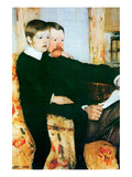 Alexander Cassatt and Robert Kelso Cassatt Posters by Mary Cassatt