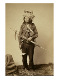 Little, the Instigator of Indian Revolt at Pine Ridge, 1890 Premium Giclee Print by John C.H. Grabill