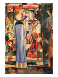 Large Bright Showcase Posters by Auguste Macke