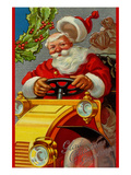 Glad Christmas Greetings Prints