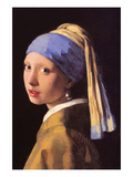 The Girl with the Pearl Earring Poster by Johannes Vermeer