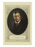 Theodore Roosevelt, Secretary of Navy, Rough Rider, Governor and President Premium Giclee Print by  Forbes Lithograph Co