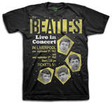 The Beatles - Live in Concert T-Shirts