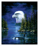 The Eagle Protector Prints by Ken Skoda