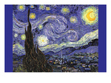 Starry Night Prints by Vincent van Gogh