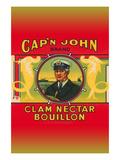 Cap'N John Brand Clam Nectar Bouillon Posters