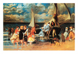 Return from a Boating Outing Prints by Pierre-Auguste Renoir