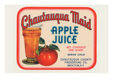 Cahutauqua Maid Apple Juice Poster