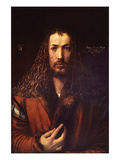 Self Portrait 2 Reproduction giclée Premium par Albrecht Dürer