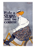 Ride a Stearns Bike and Be Content Print by  Ottomann