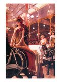 The Women in the Cars Premium Giclee Print by James Tissot