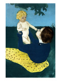 Under the Horse Chestnut Tree Posters par Mary Cassatt
