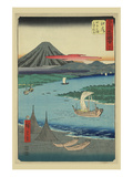 Ejiri Posters by Ando Hiroshige