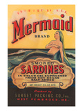 Mermaid Brand Smoked Sardines Print