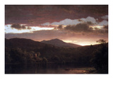 Twilight (Catskill Mountain) Posters by Frederic Edwin Church